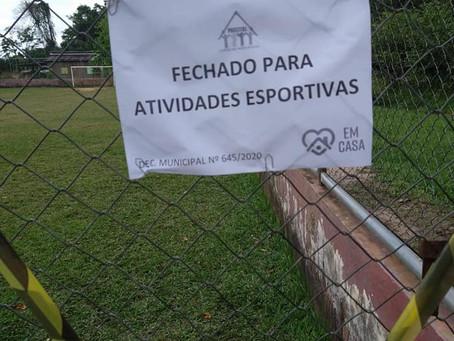 Prefeitura de Xapuri fecha Espaços Esportivos para evitar aglomeração de pessoas