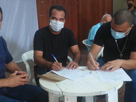 Jailson Amorim se reúne com os assentados do município e assina acordo de cooperação técnica