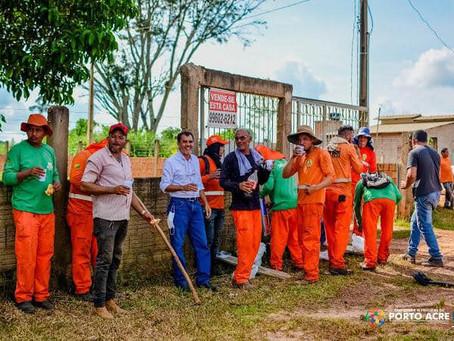Prefeito Bené reivindicou e Deracre iniciou recuperação de pontos críticos na rodovia AC-10
