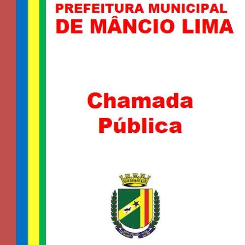 Chamada Pública N° 001/2019 CMDCA - Contratação de 01 Psicólogo