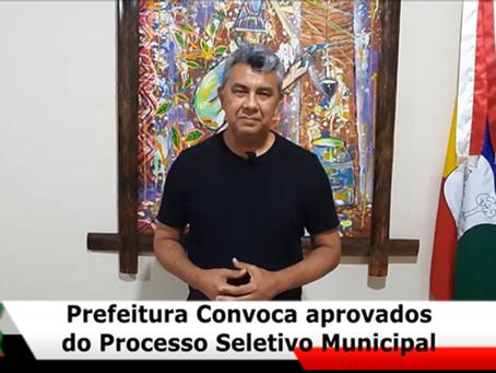 Candidatos aprovados no PSS 03/21 devem entregar documentos na Administração Municipal nesta quarta