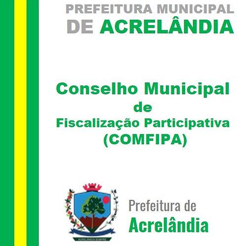Decreto N° 062/2021 - Criar o CONSELHO MUNICIPAL DE FISCALIZAÇÃO PARTICIPATIVA
