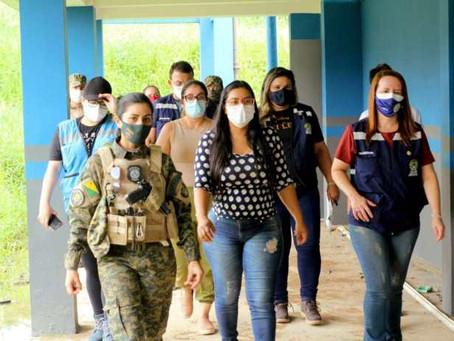 Fluxo migratório em Assis Brasil é debatido entre Estado e Prefeitura