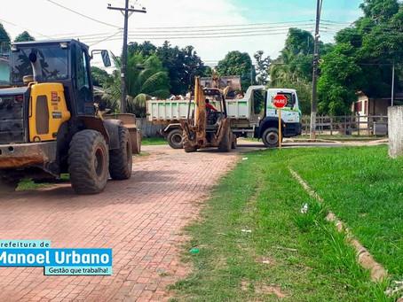 """Manoel Urbano: """" Cidade limpa, povo saudável"""