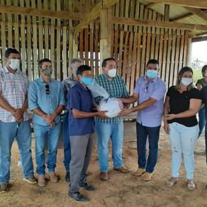 Secretário de estado da SEPA faz visita em comunidades, para incentivar a produção