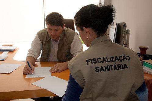 Fiscalização para Emissão de Alvará Sanitário