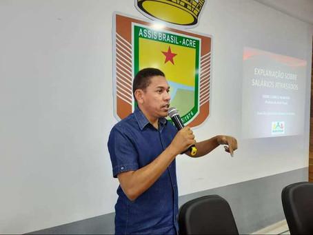 Prefeito Jerry Correia teme crescimento do desemprego com bloqueio de ponte em Assis Brasil