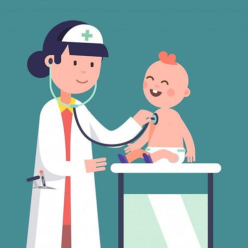 Consulta Médica Pediátrica