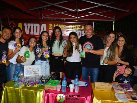 Prefeitura realizou esquenta do Quinari Folia na praça Fontinelle de Castro