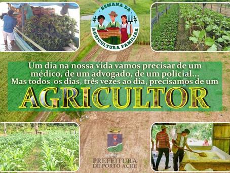 Parabéns a agricultura familiar !