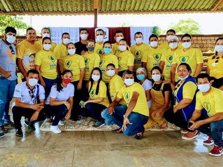 Marechal Thaumaturgo realiza rave da vacina e aplica mais de 700 doses em 10 horas de vacinação