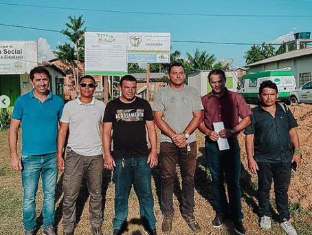 Prefeito Naudo Ribeiro assina ordem de serviço para construção do almoxarifado central de Jordão