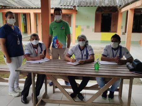 Marechal Thaumaturgo começa a imunizar, contra a covid-19, profissionais da área Educação