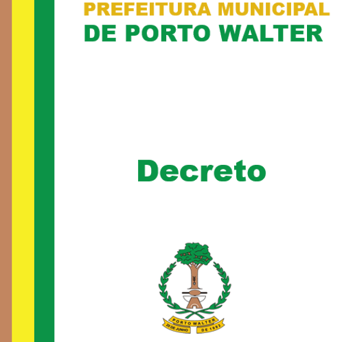 Decreto N° 001/2021 - Fica nomeado o Sr. AROLDO CARVALHO LIMA