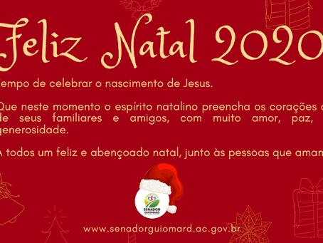 Prefeitura de Senador Guiomard deseja a todos os guiomarenses um Feliz Natal