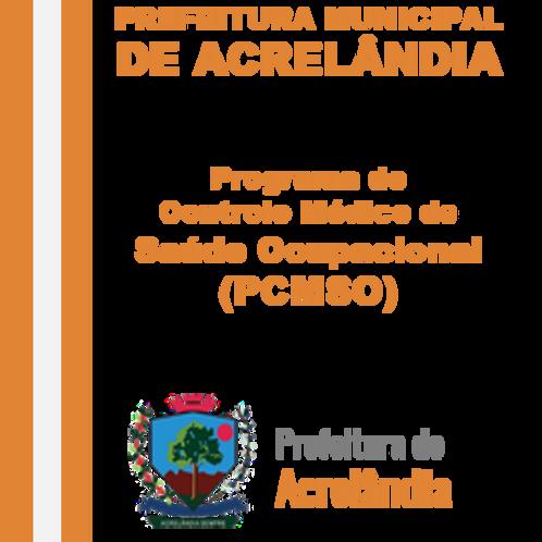 PCMSO - Programa de Controle Médico de Saúde Ocupacional (Saúde)