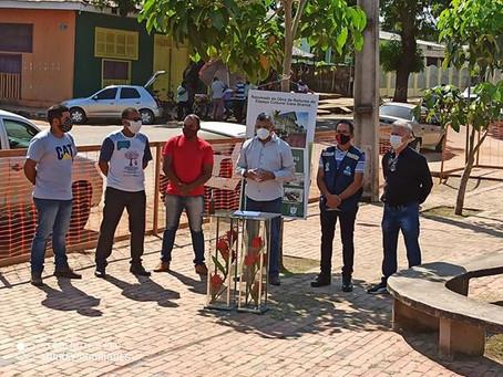 Prefeito Bira Vasconcelos assina Ordem de Serviço para Revitalização do Museu