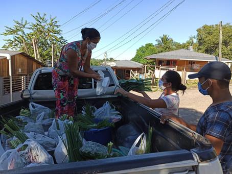Produtores rurais de Marechal Thaumaturgo utilizam delivery para vender seus produtos