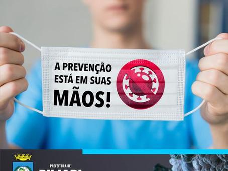 Campanha: A pandemia não cessou, continue usando máscara e mantendo o distanciamento social