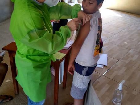Prefeitura leva vacina contra covid-19 e Influenza para as igrejas e comunidades