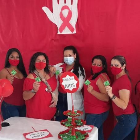 Prevenção à AIDS e outras doenças sexualmente transmissíveis são realizadas na UBS Francisca Lima