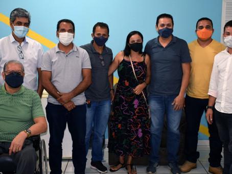 Prefeito Jailson e Vice Pr. Nilson recebem visita institucional do deputado Edvaldo Magalhães
