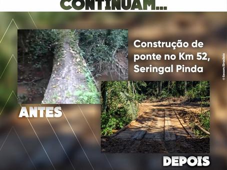"""""""Hoje estou realizando um sonho"""" destaca moradora beneficiada com ramal em Brasileia"""