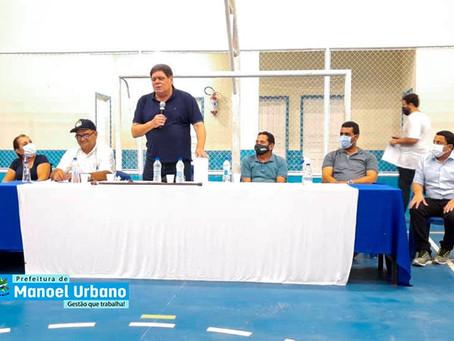 """Prefeitura inaugura o Ginásio Poliesportivo """"Francisco Raulino"""""""