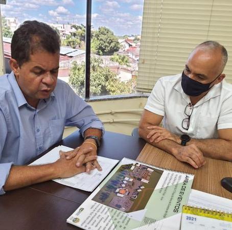 Kiefer Cavalcante visita SEPLAG e garante início da Área de Eventos situada no Parque Buritizal