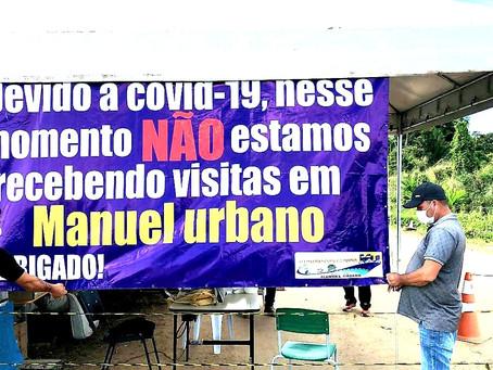 """Prefeitura lança campanha """"Fique em casa, não é momento de visitas"""""""