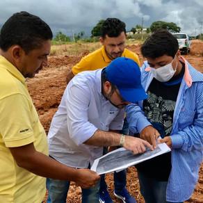 Governo municipal e estadual iniciam a recuperação da pista de pouso