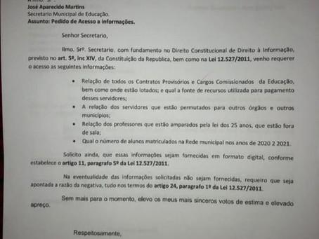 Vereadora reivindica pagamento das percas salariais e do piso nacional aos educadores guiomarenses