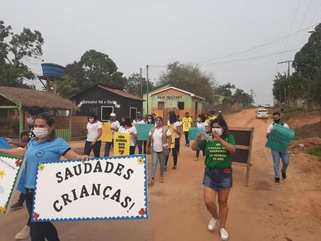 Prefeitura de Porto Acre realiza desfile 7 de setembro