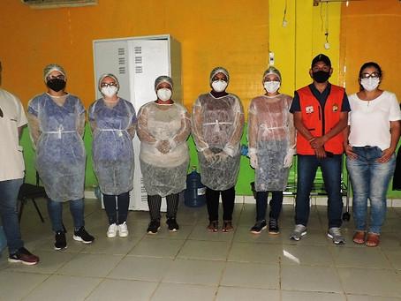 Prefeitura de Assis Brasil inicia testes de covid-19 em pouco mais de 300 imigrantes