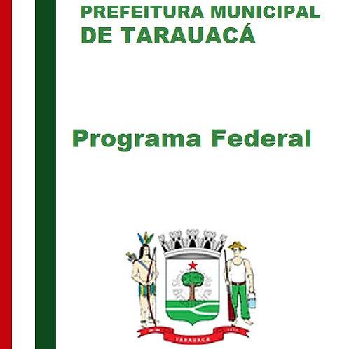 Sindicância  - Programas Federais PBF  ,  PAB  e  ESF