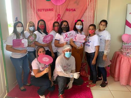 Vila do V recebe programação em alusão ao Outubro Rosa, prevenção ao câncer de mama