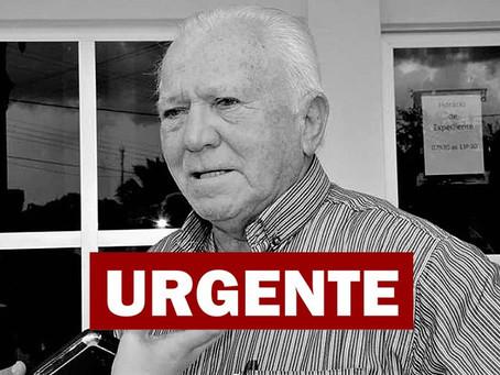 Luto Oficial: Falecimento do prefeito Sebastião Correia
