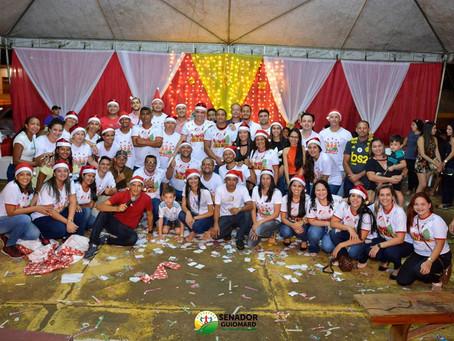 Prefeito André Maia junto a sua equipe realizou Natal Solidário na praça Fontenelle de Castro
