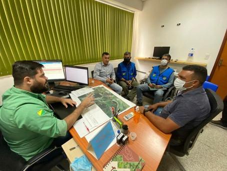 Prefeito Naudo Ribeiro busca parceria com IFAC e Depasa para construção de ETE