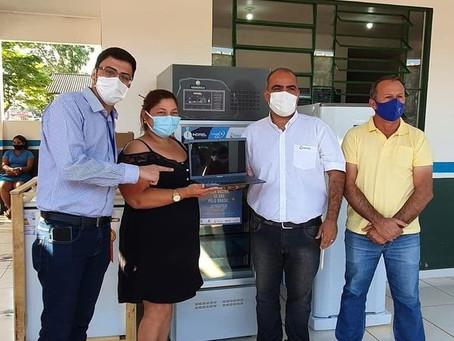Parceria: Prefeitura recebe doação de equipamentos para combater a covid-19
