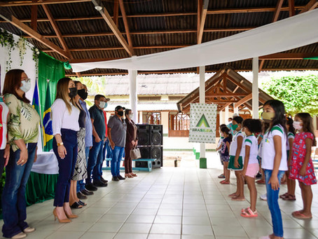 Brasiléia retoma às aulas presenciais com rodizio de estudantes