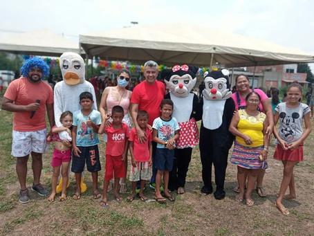Prefeitura de Xapuri celebra dia das crianças com muitas brincadeiras, diversão e entretenimento