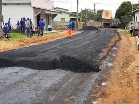 Prefeito Tanízio realiza investimentos em pavimentação de ruas no município