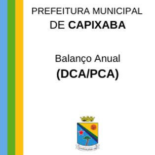 Balanço Anual - 2014