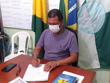 Casos positivos da Covid-19 em Marechal Thaumaturgo