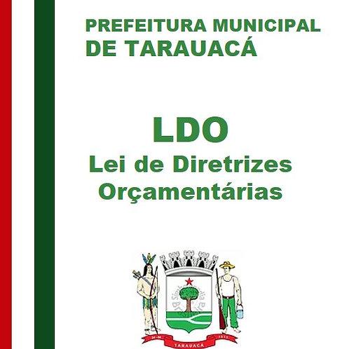 LDO 2016 (Lei nº 862 de 01/12/2015)
