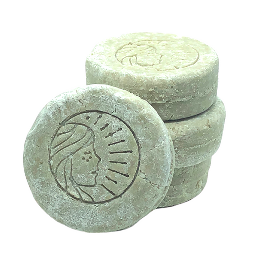 Green Clay Peppermint Shampoo Bar