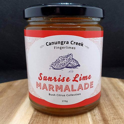 Sunrise Lime Marmalade 270ml