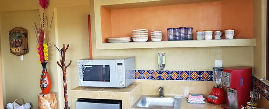 Small Kitchen in Pez Vela room