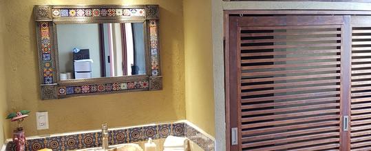 Sink in Iguana Room of Casa Arcoiris